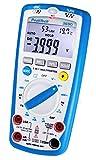 PeakTech 3690 – Digitales 5-in-1 Multimeter, Luxmeter, Schallpegelmessgerät,...